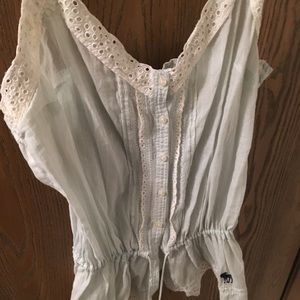Abercrombie and Fitch sleeveless top